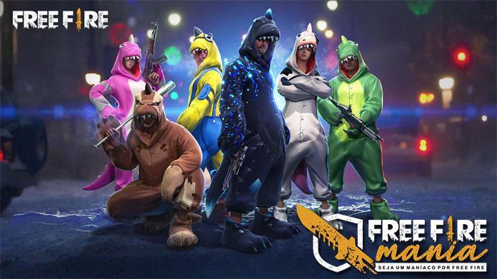 Incubadora dos Dinos estão de volta ao Free fire!