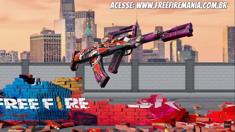 ¡Sin precedentes! Garena trae el primer arma real de GROZA a Free Fire