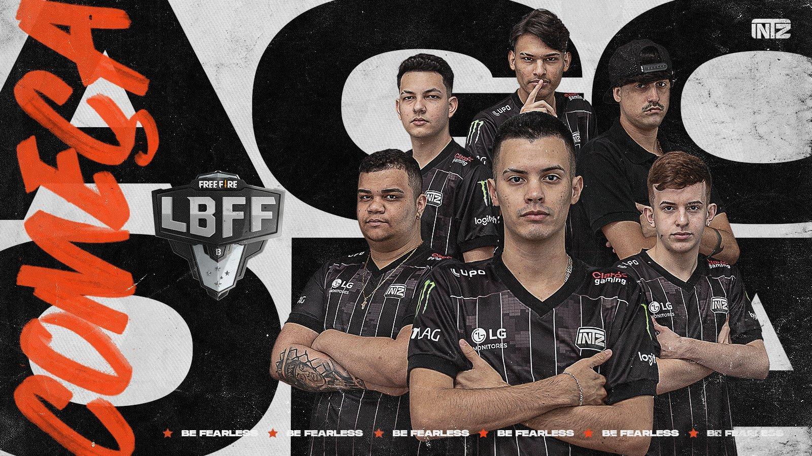 INTZ Free Fire anuncia novos jogadores na line-up para disputar a série B da LBFF