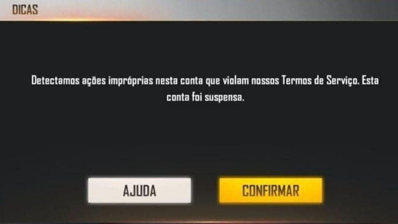 Jogador de Free Fire com a conta de maior nível é banido por