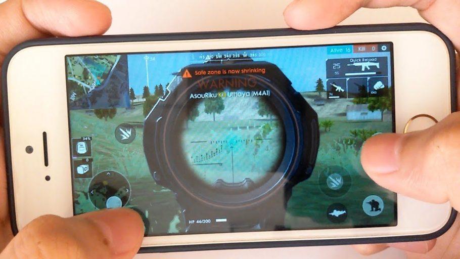 Jogadores de Free Fire passam mais de 2 horas por dia no Battle Royale