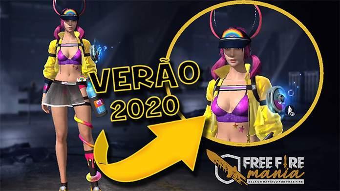 Jogos de Verão 2020, o novo evento do Free Fire