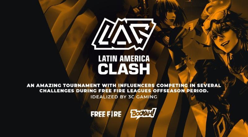 Latin American Clash 2021, torneio latino-americano de Free Fire, começa nesta segunda (10)