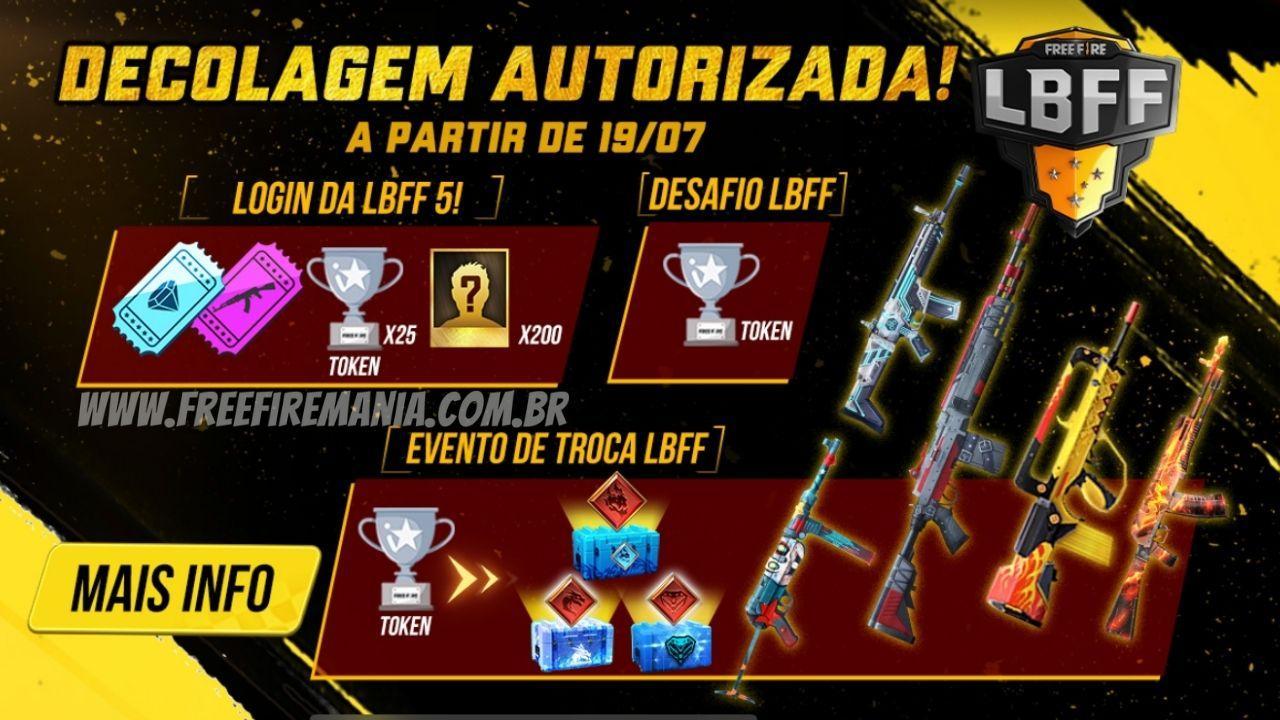 LBFF 5: finais do campeonato de Free Fire tem premiações para os usuários