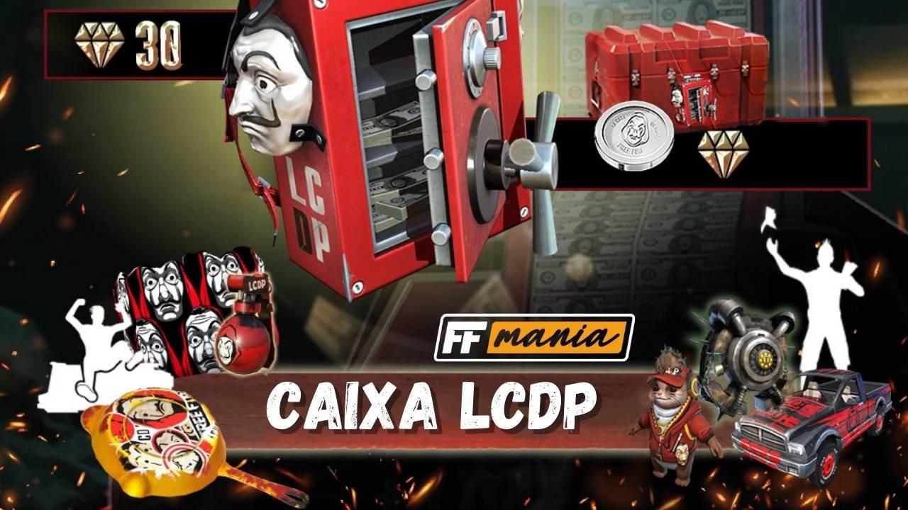LCDP Free Fire: itens da parceria com La Casa de Papel estão de volta!