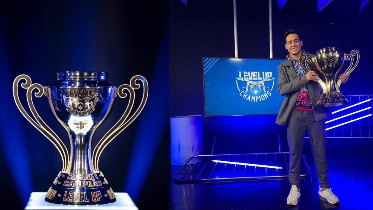 Level Up Champions de Free Fire: troféu em Ouro da competição custou R$ 40 mil