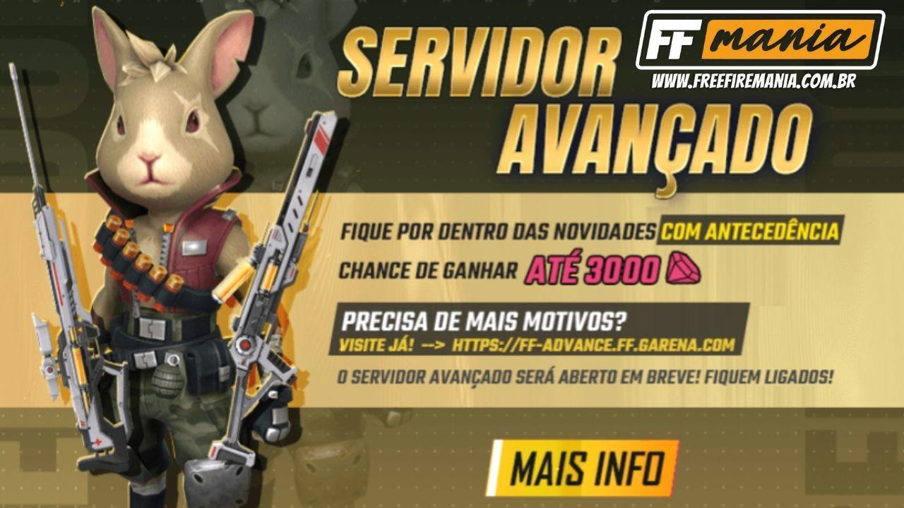 Link de download Free Fire Servidor Avançado Setembro 2021 revelado, baixe agora