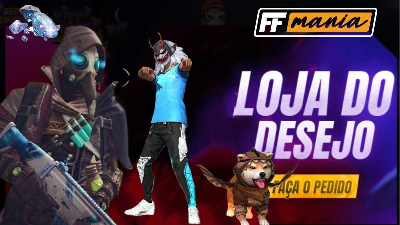 Loja do Desejo Free Fire: versão 8.0 traz emote Cachorro Dançando Funk