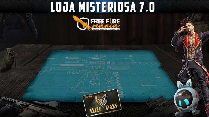 Confirmada a Loja Misteriosa 7.0 no Free Fire