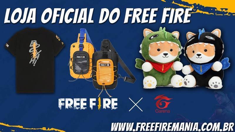 Compre produtos originais na Loja Oficial do Free Fire