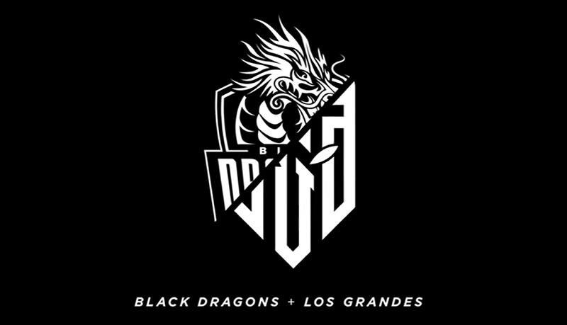 LOS GRANDES e Black Dragons se unem para disputar a Liga Brasileira de Free Fire