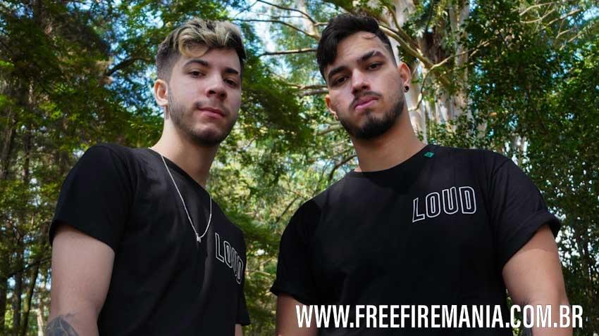 LOUD anuncia JORDAN e LZINN como novos integrantes do time de Free Fire