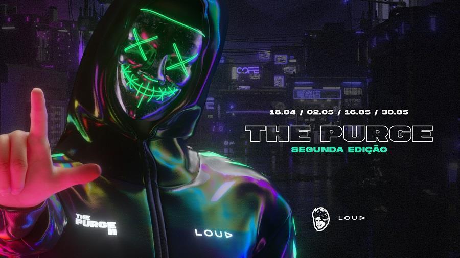 LOUD e Coringa lançam a 2ª edição do campeonato The Purge