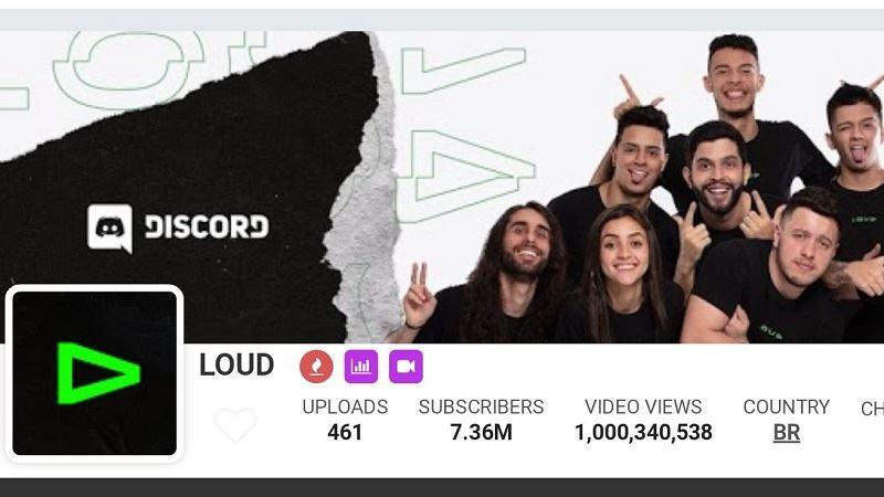 LOUD é o primeiro time de eSports do mundo a ter 1 bilhão de views