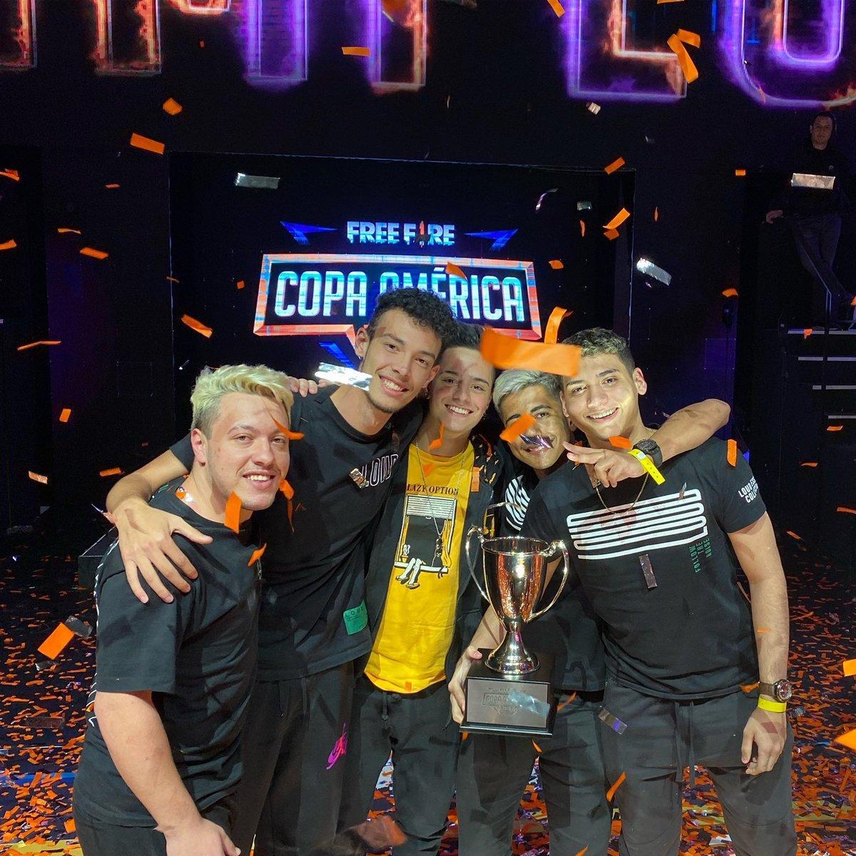 LOUD Free Fire: Line-up campeã da Copa America de 2020 se desfaz