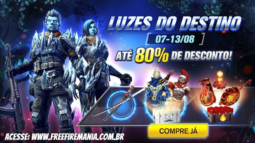 Lights of Destiny: buy items with up to 80% discount on Free Fire