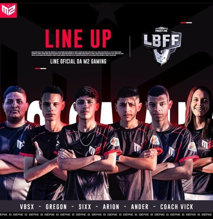 M2 Gaming Free Fire: conheça a line-up da equipe para disputa da LBFF Série B