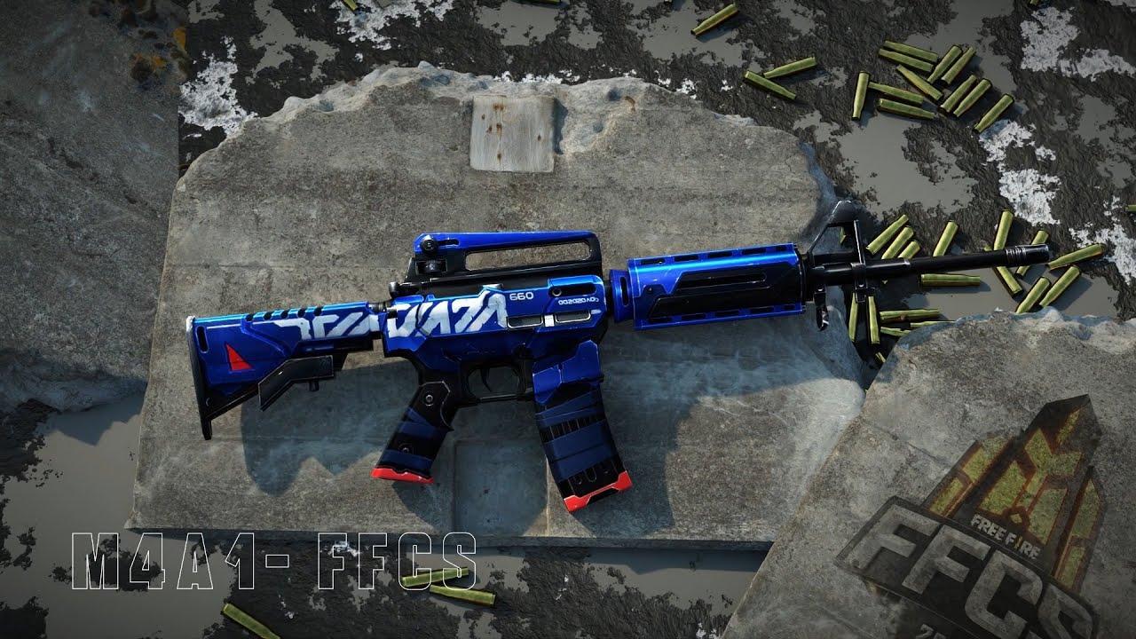 M4A1 FFCS: novo Arma Royale com arma temática de e-Sports