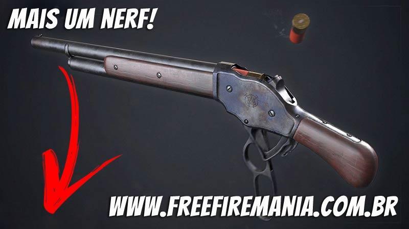 Mais um NERF na Nova DOZE M1887 do Free Fire