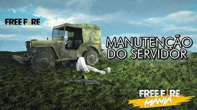 Manutenção do Servidor 29/11 as 03 horas