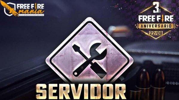 Manutenção Free Fire: servidor fora do ar em 12 de Agosto de 2020