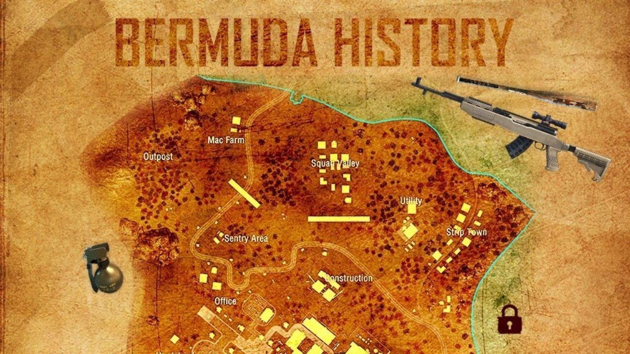 Mapa Bermuda Free Fire: conheça a história sobre a principal ilha do Battle Royale da Garena