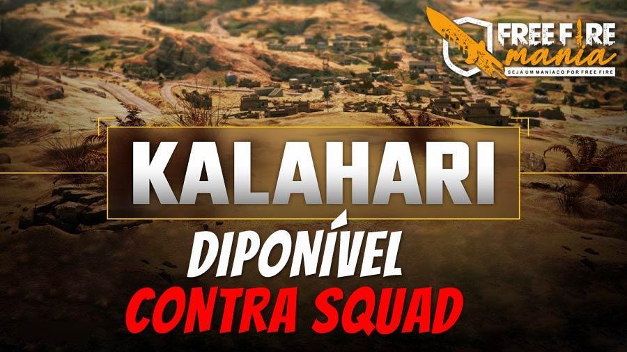 Mapa Kalahari disponível no Contra Squad