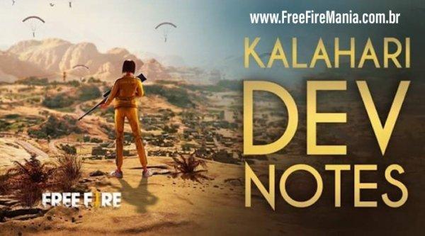 Mapa Kalahari nas Ranqueadas? Confira tudo que os desenvolvedores do Free Fire falaram sobre o Mapa