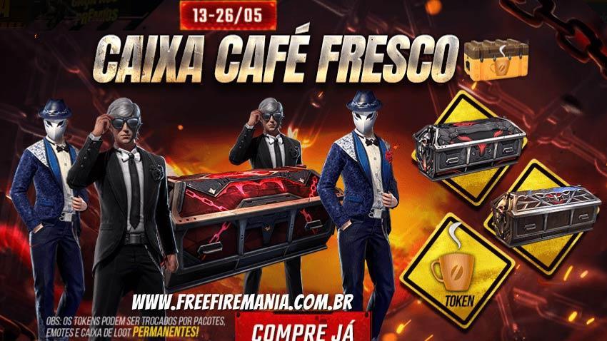 Meme do Caixão no Free Fire? Chegou a Caixa Café Fresco