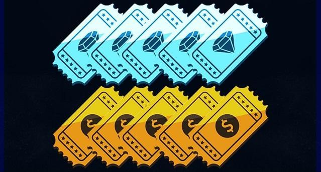 Meta Alcançada: Receba os Tickets de Diamante e Ouro!