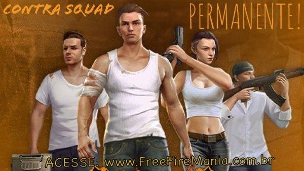 Modo Contra Squad de Volta Permanentemente no Free Fire