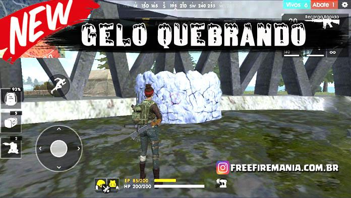 Mudança na Granada de Gel do Free Fire