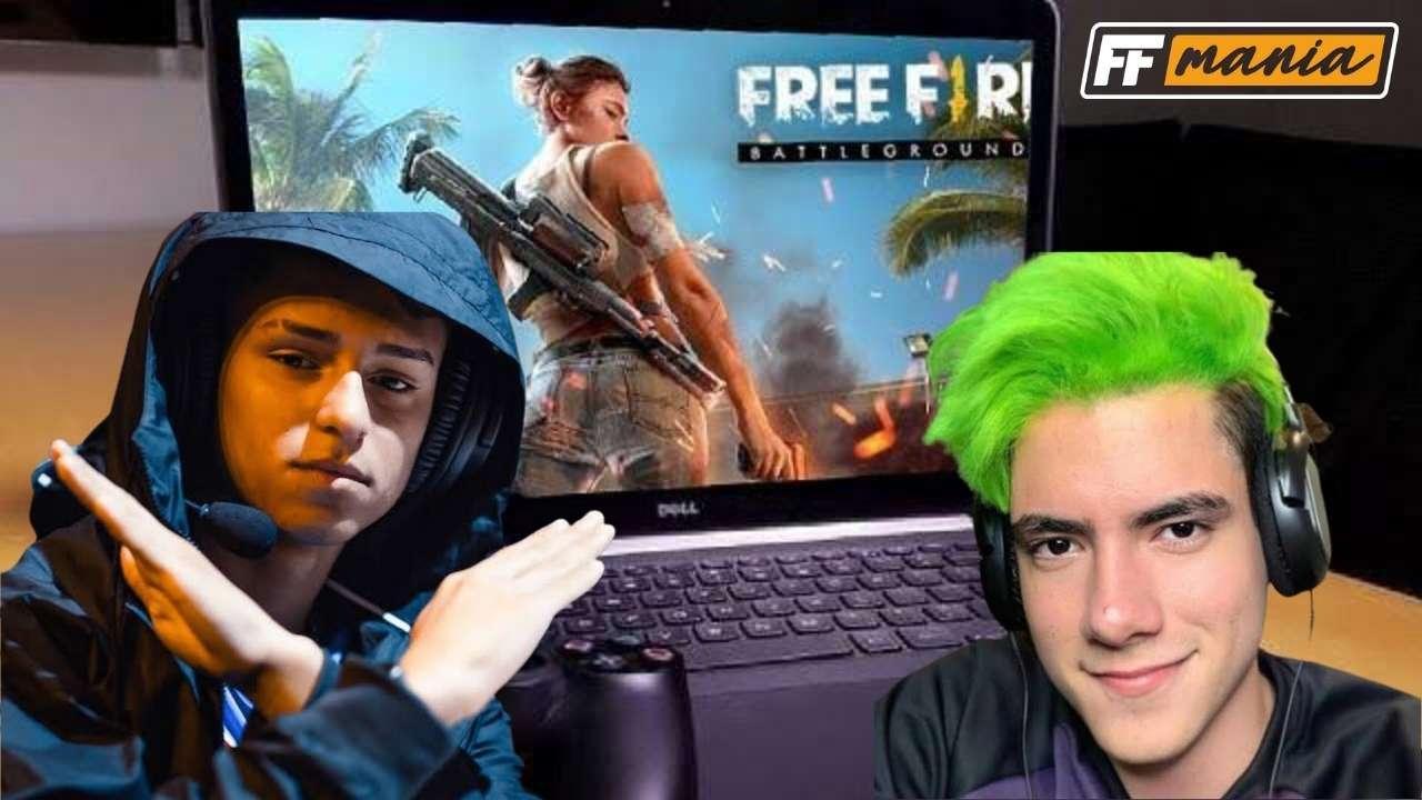 Mundial de Emulador no Free Fire? influenciadores se unem para a