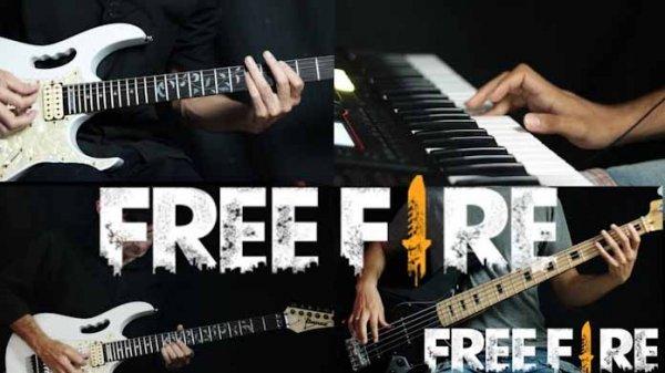 Música do Free Fire em Guitarra e Teclado