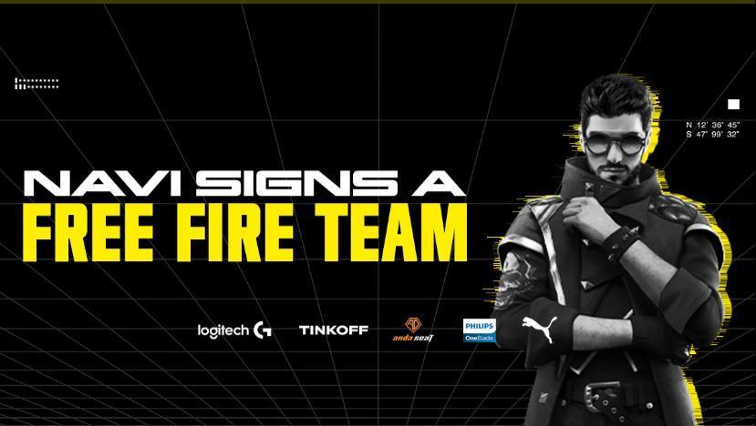 NaVi anuncia que entrará para o competitivo de Free Fire