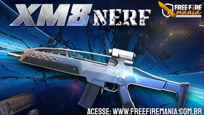 NERF da XM8, veja o que muda com a arma na atualização de Julho/2020