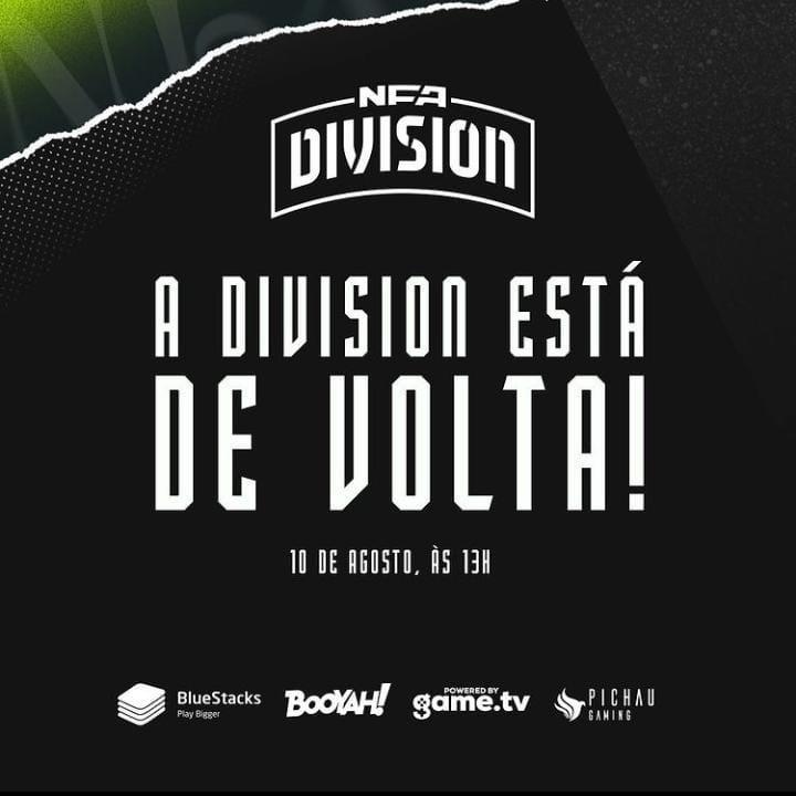 NFA Divison Season 2: Divulgado as datas e os grupos da competição