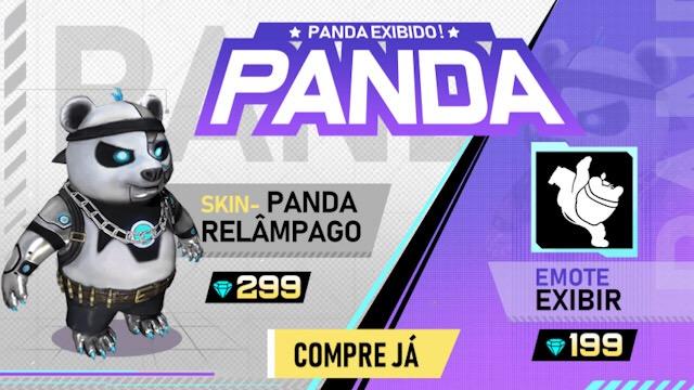 No Brasil: Chegou o Novo Panda Relâmpago
