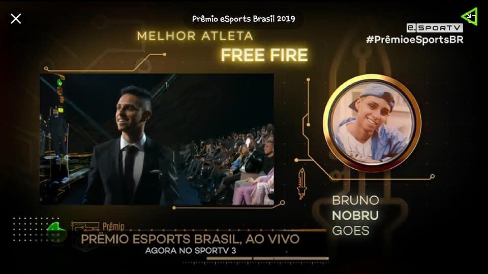 Nobru Apelou e levou 3 prêmios do eSports Brasil, Free Fire ganhou tudo!