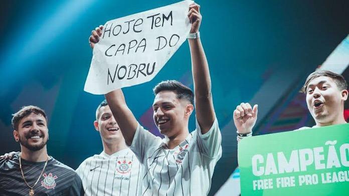 Nobru, o nome do Mundial de Free Fire