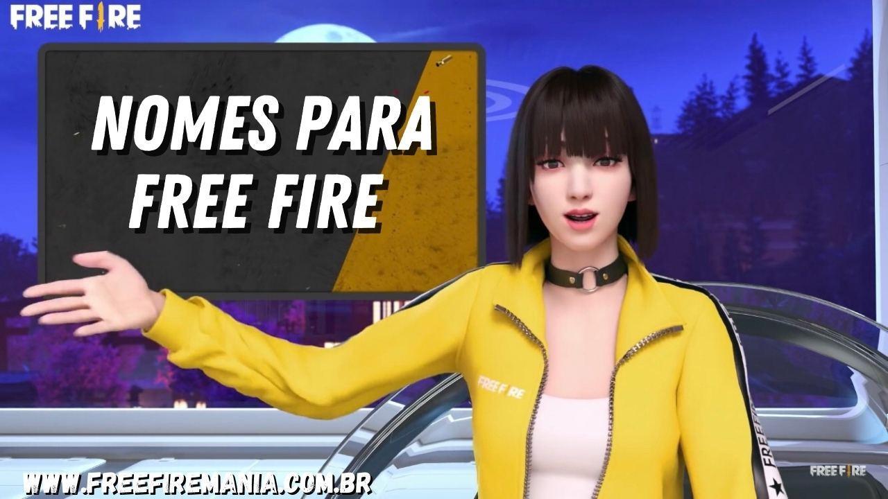 Nomes para Free Fire 2021: nicks personalizados e únicos para os jogadores mais exigentes