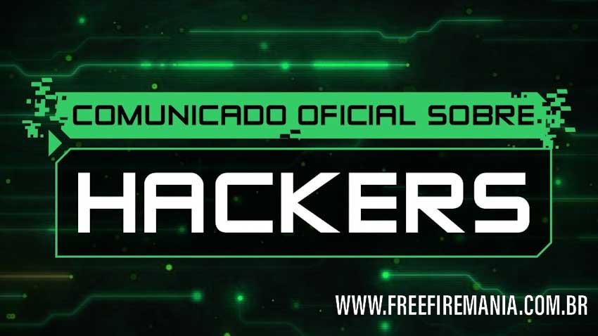 Nota Oficial da Garena sobre os Hacks no Free Fire