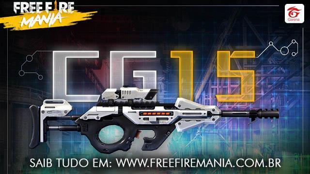 Nova Arma CG15 - Quanto Maior a Carga Mais Forte!