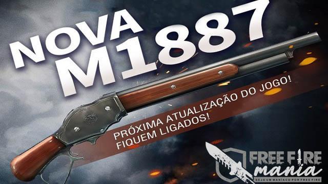 Nova Arma M1887 no Free Fire