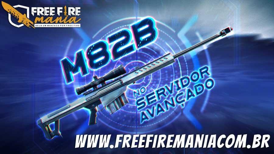 Nova Arma no Free Fire: M82B