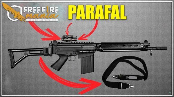 Nova Arma PARAFAL chega ao Free Fire