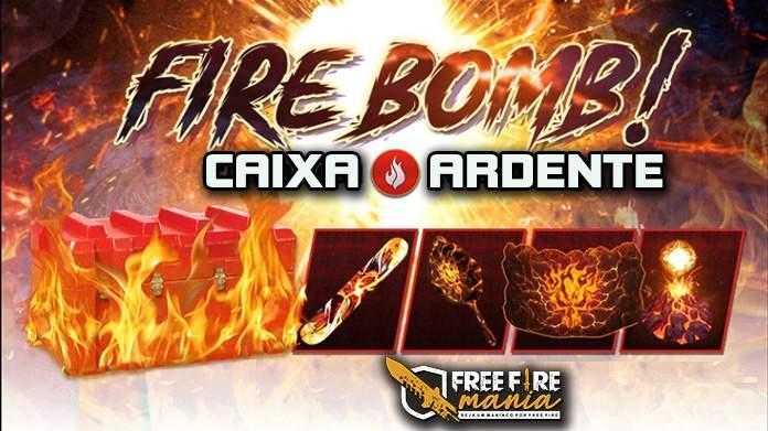 Nova Caixa de itens: Caixa Ardente no Free Fire!