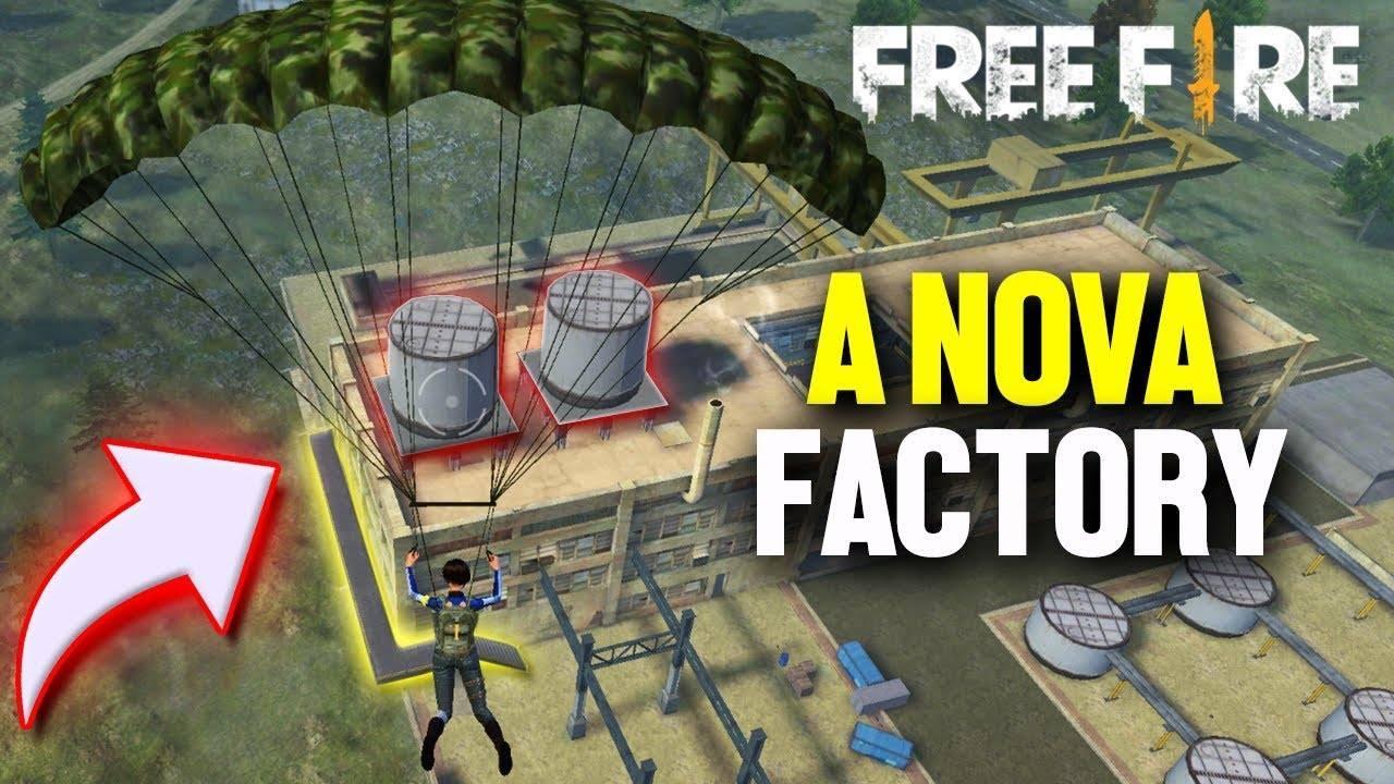 Nova Factory remodelada no Free Fire