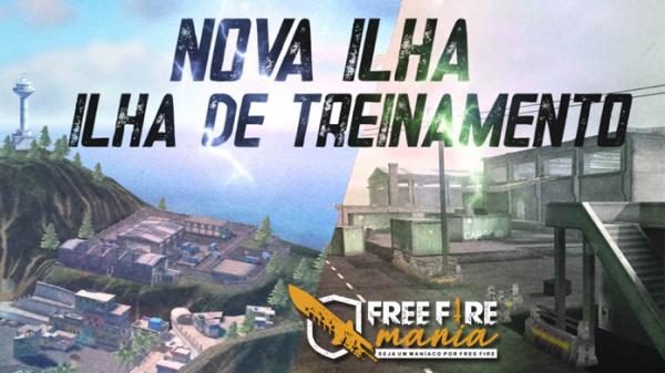 Nova Ilha de Treinamento no Free Fire