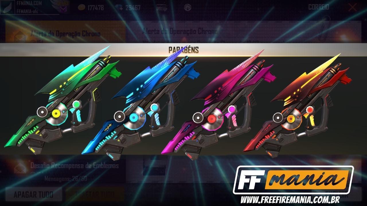 Nova Incubadora Armas Sônicas com as skins da P90 é a primeira de 2021, confira os detalhes